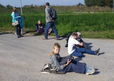 odpoczynek podczas wycieczki