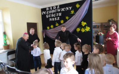 Wizyta Księdza Biskupa Edwarda Frankowskiego